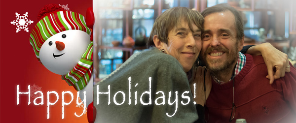 Holiday Message from Liliane and Didier